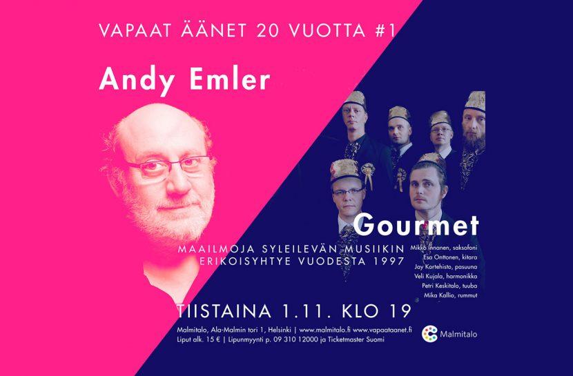 Poster of Vapaat äänet 20 vuotta #1 concert.