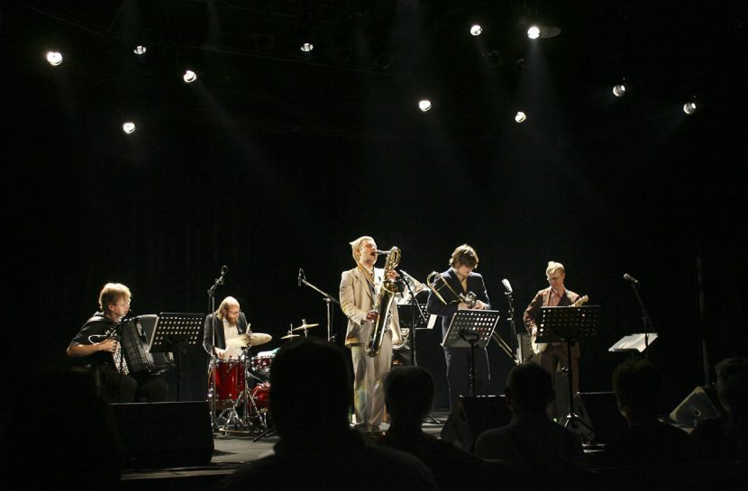Gourmet playing live at Europa Jazz Festival in Le Mans.