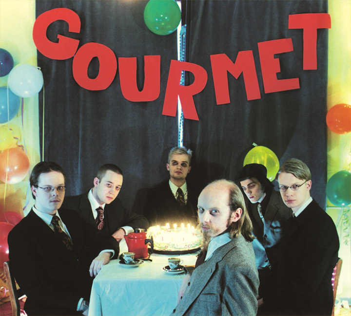 The cover of Gourmet's Glamour & Decadence album.