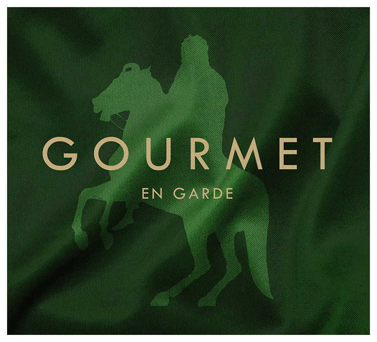 The cover of Gourmet's En garde album.
