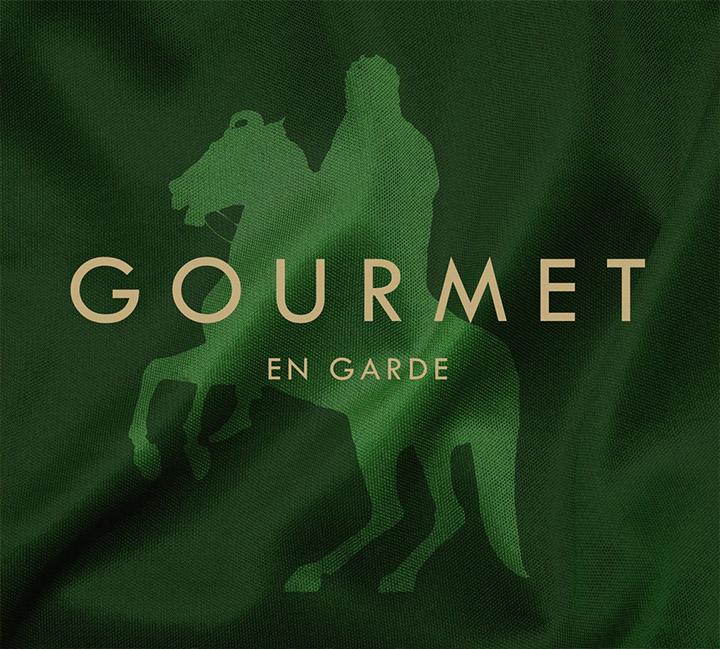 The cover of Gourmet's En garde album.